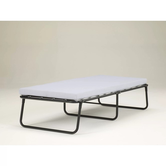 Simmons Beautysleep Foldaway Guest Bed Cot With Memory Foam Mattress Multiple Sizes