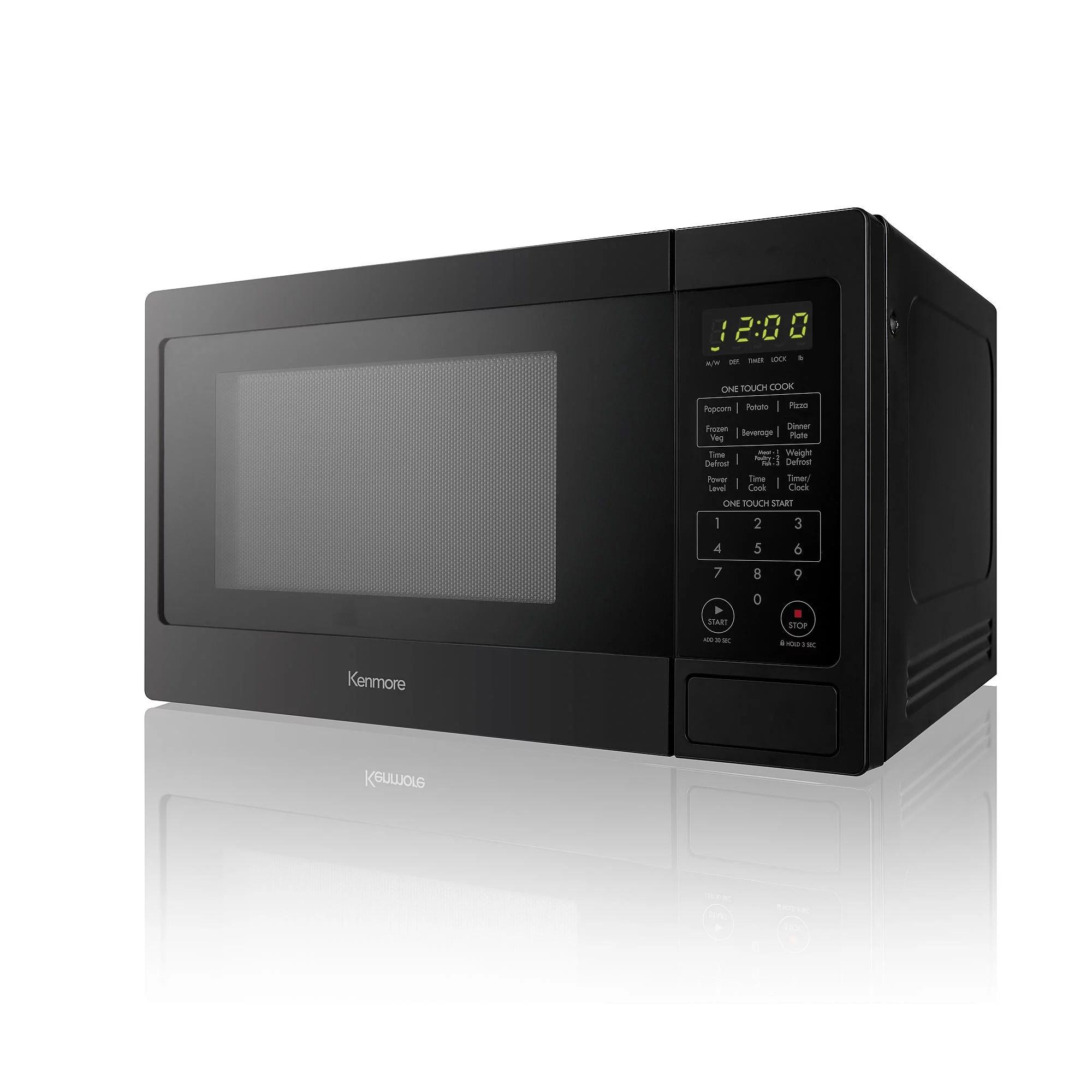 kenmore 70919 countertop microwave oven 0 9 cu ft black