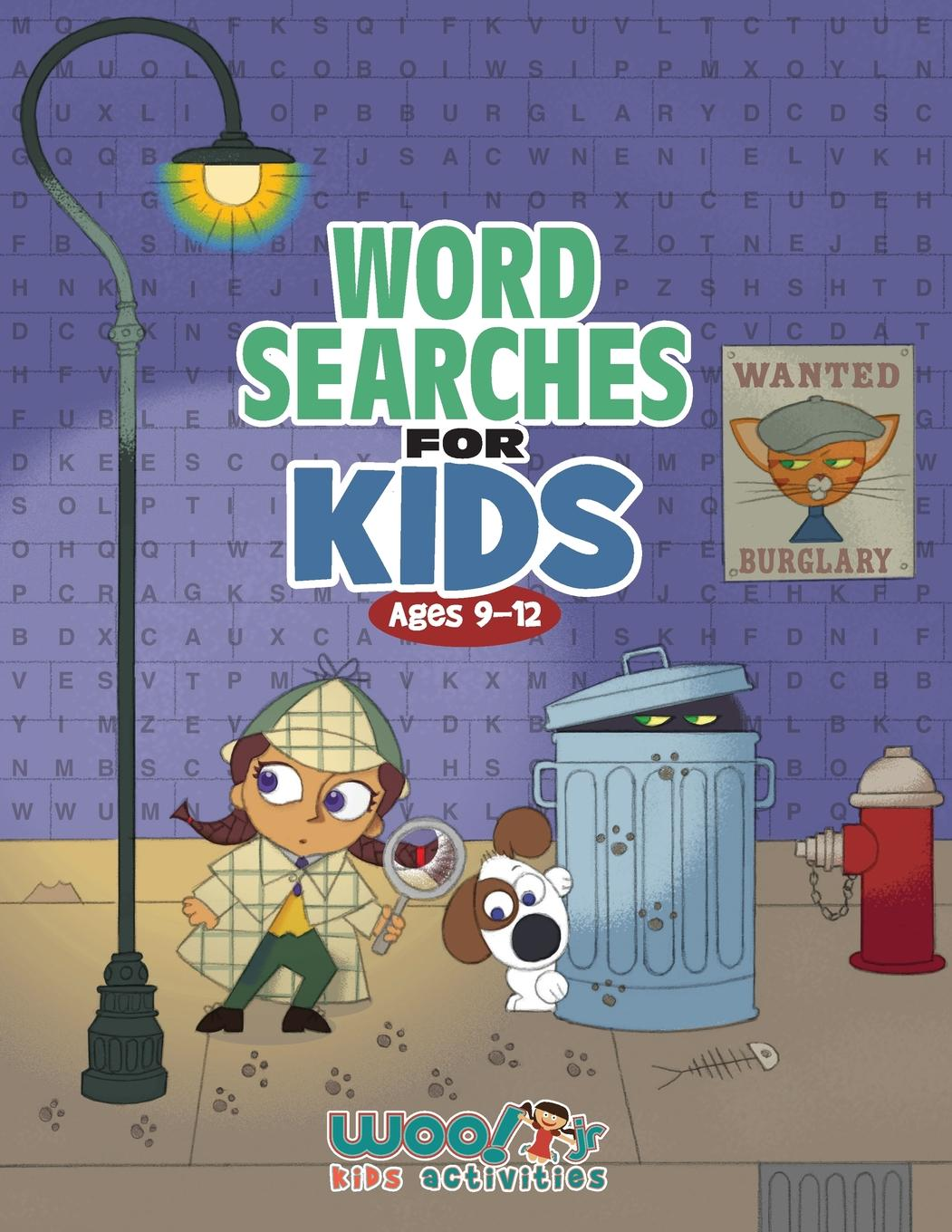 Word Search For Kids Ages 9 12 Reproducible Worksheets