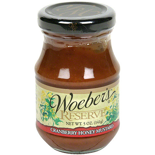 Woeber39s Cranberry Honey Mustard 5 oz Pack of 6