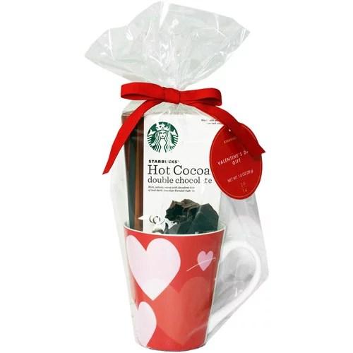 Starbucks Hot Cocoa Mug Gift Set 2 Pc