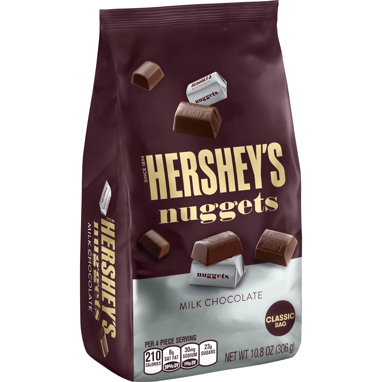 Hershey S Nuggets Milk Chocolate Candy 10 8 Oz
