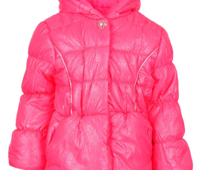 Product Image All Over Glitter Puffer Jacket Coat