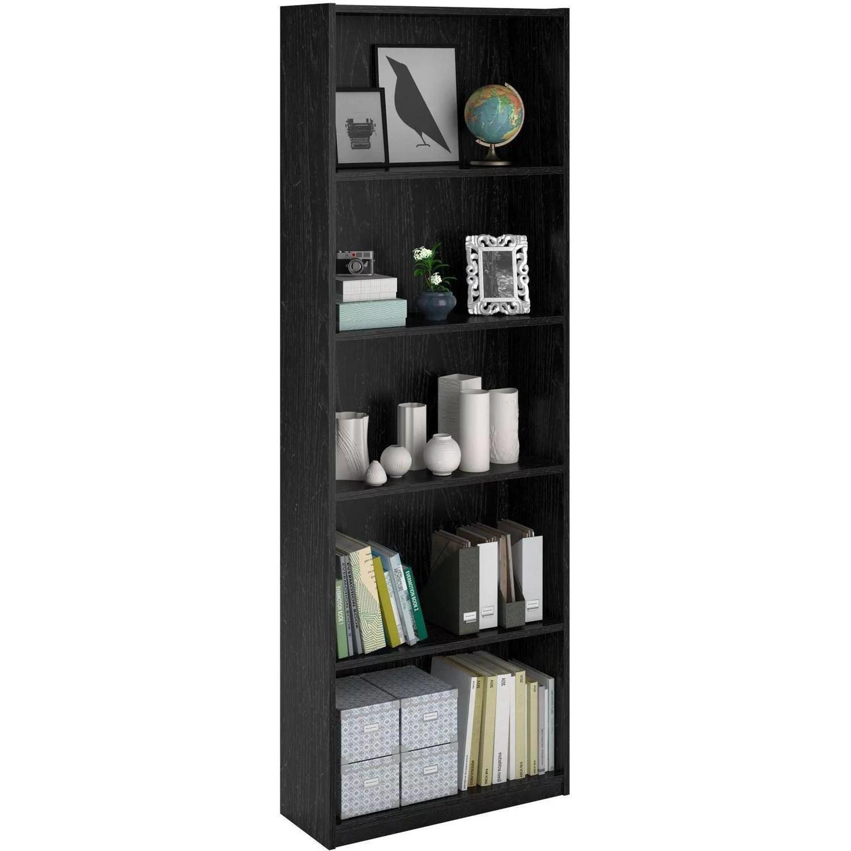 Ameriwood 5 Shelf Bookcase Multiple Colors Walmart Com