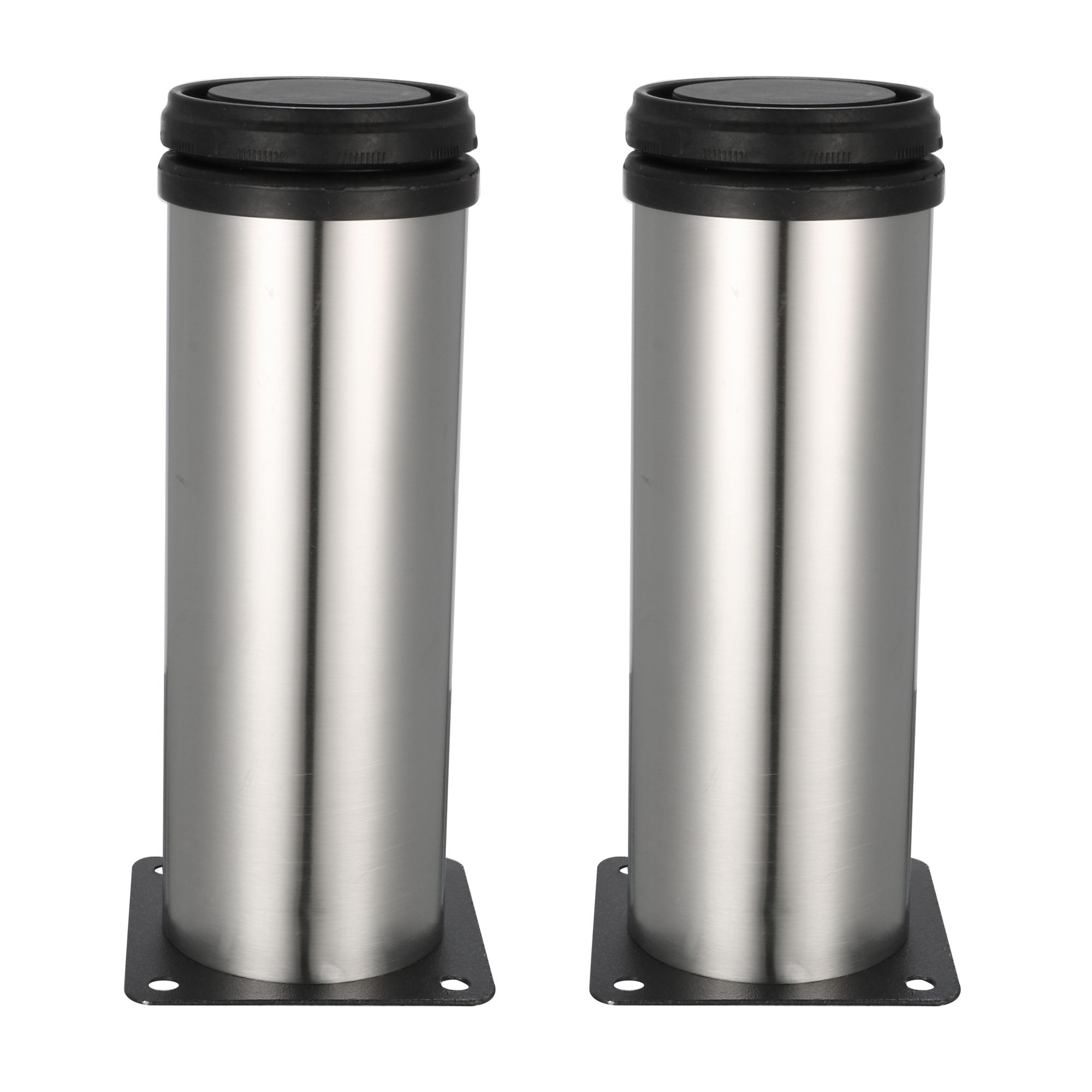 furniture legs stainless steel 150mm 165mm adjustable cabinet table feet 2pcs