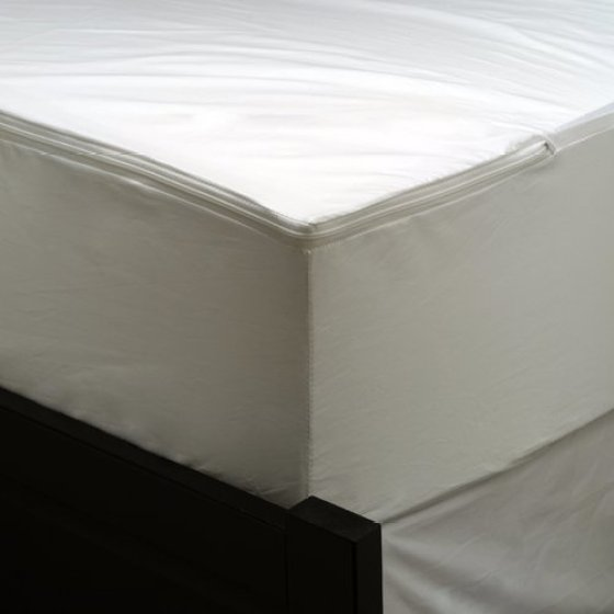 Allerease Waterproof Zippered Mattress Protector Vinyl Free Hypoallergenic