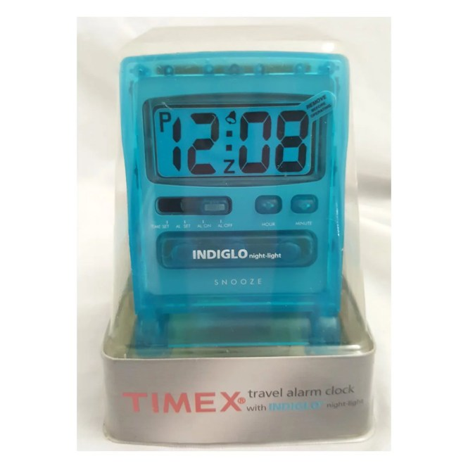 Timex 3471t Travel Alarm Clock With