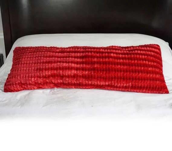 plush body pillow yukon scarlet red walmart com