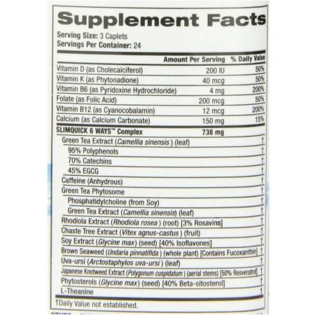 اشتريه SlimQuick Pure Fats Burner للنساء ، حبوب منع الحمل العادية لتخفيف الوزن ، 72 قيراط 395057dd ec88 4a11 97b3 11552a79c570 1