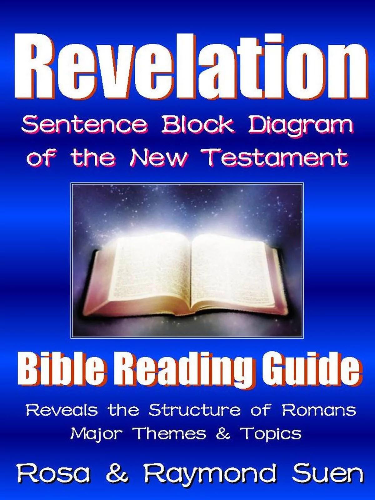 Book of Revelation  Sentence Block Diagram Method of the