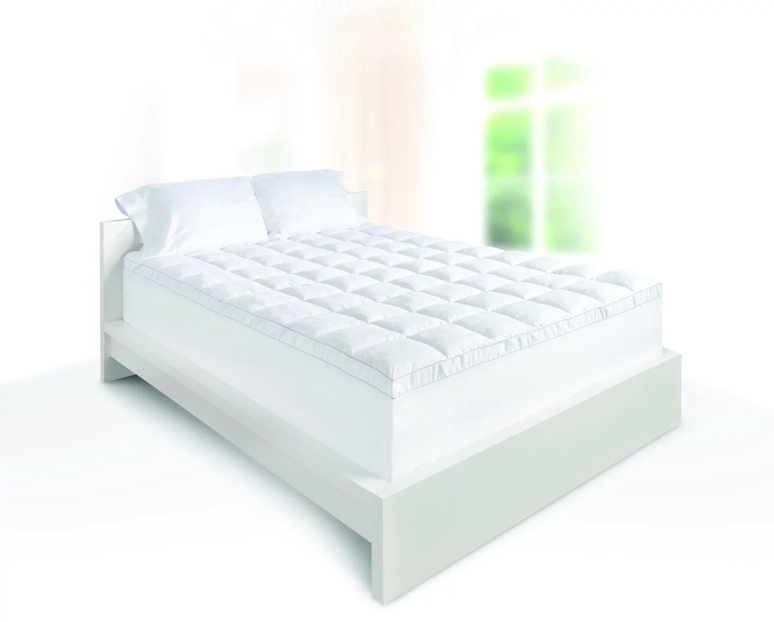 dream serenity memory foam 4 luxury pillow top mattress topper 1 each