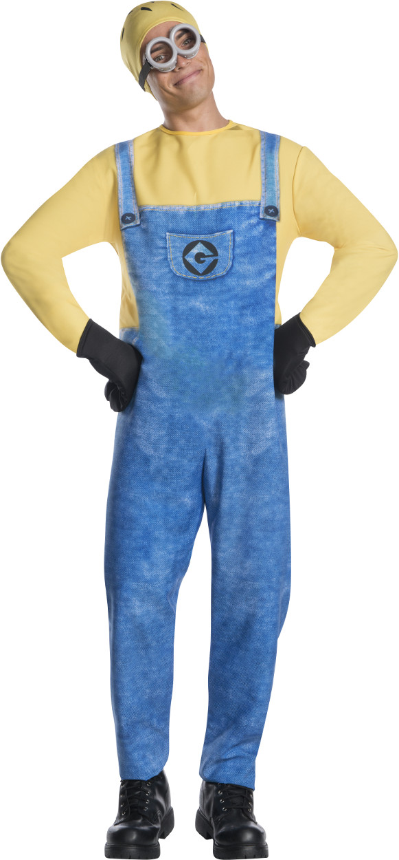Adult Mens Despicable Me 3 Minion Jerry Jumpsuit Costume