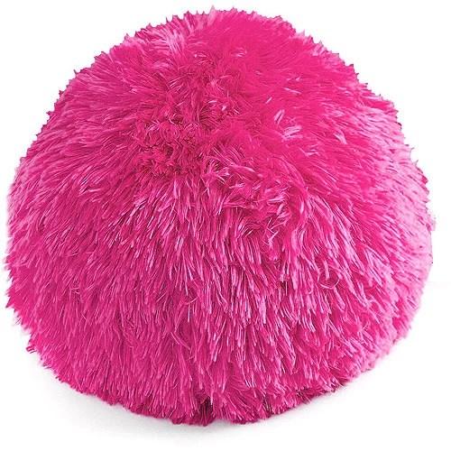 your zone longhair fur decorative pillow 1 each