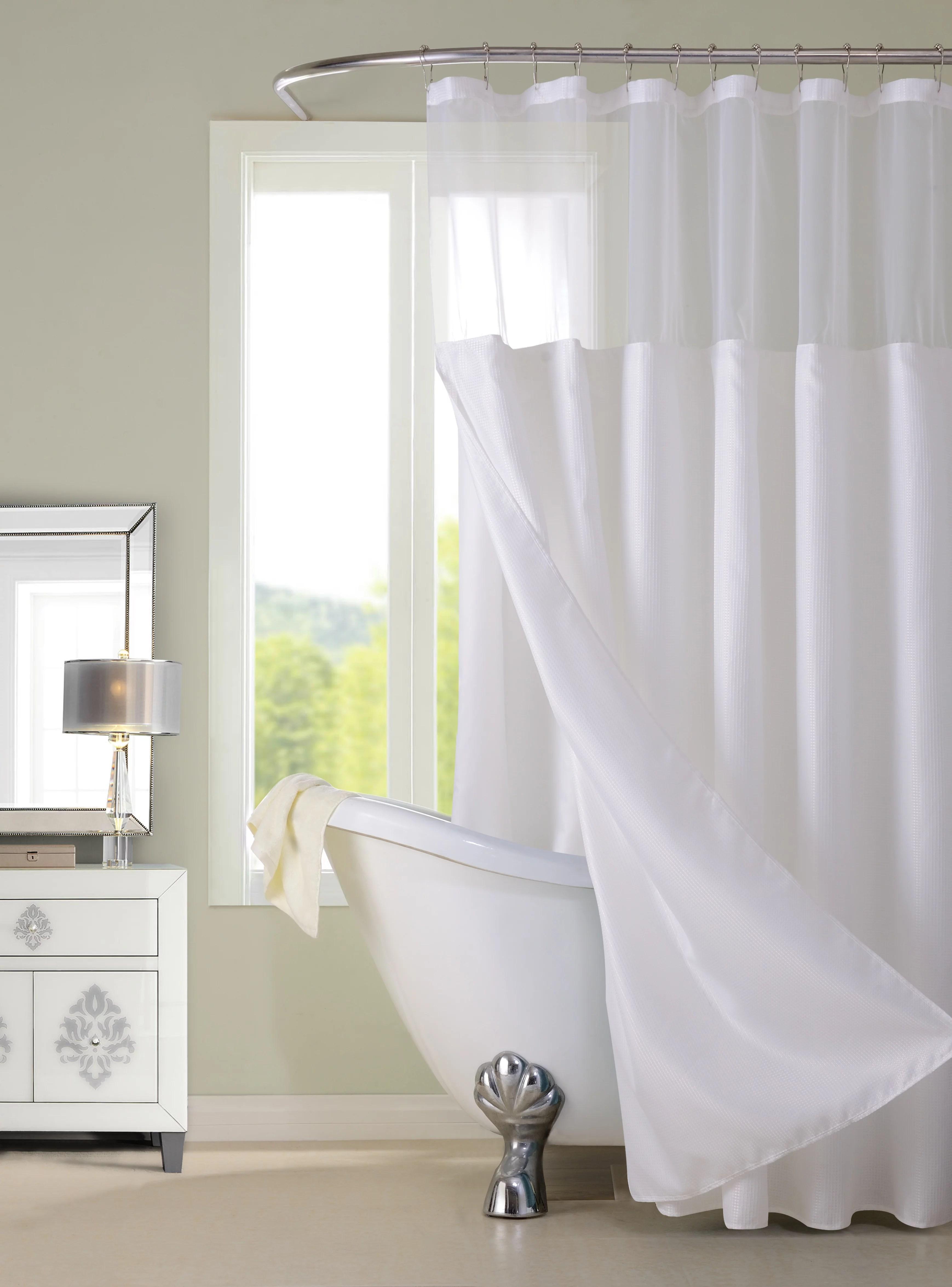 shower curtain sets white walmart com