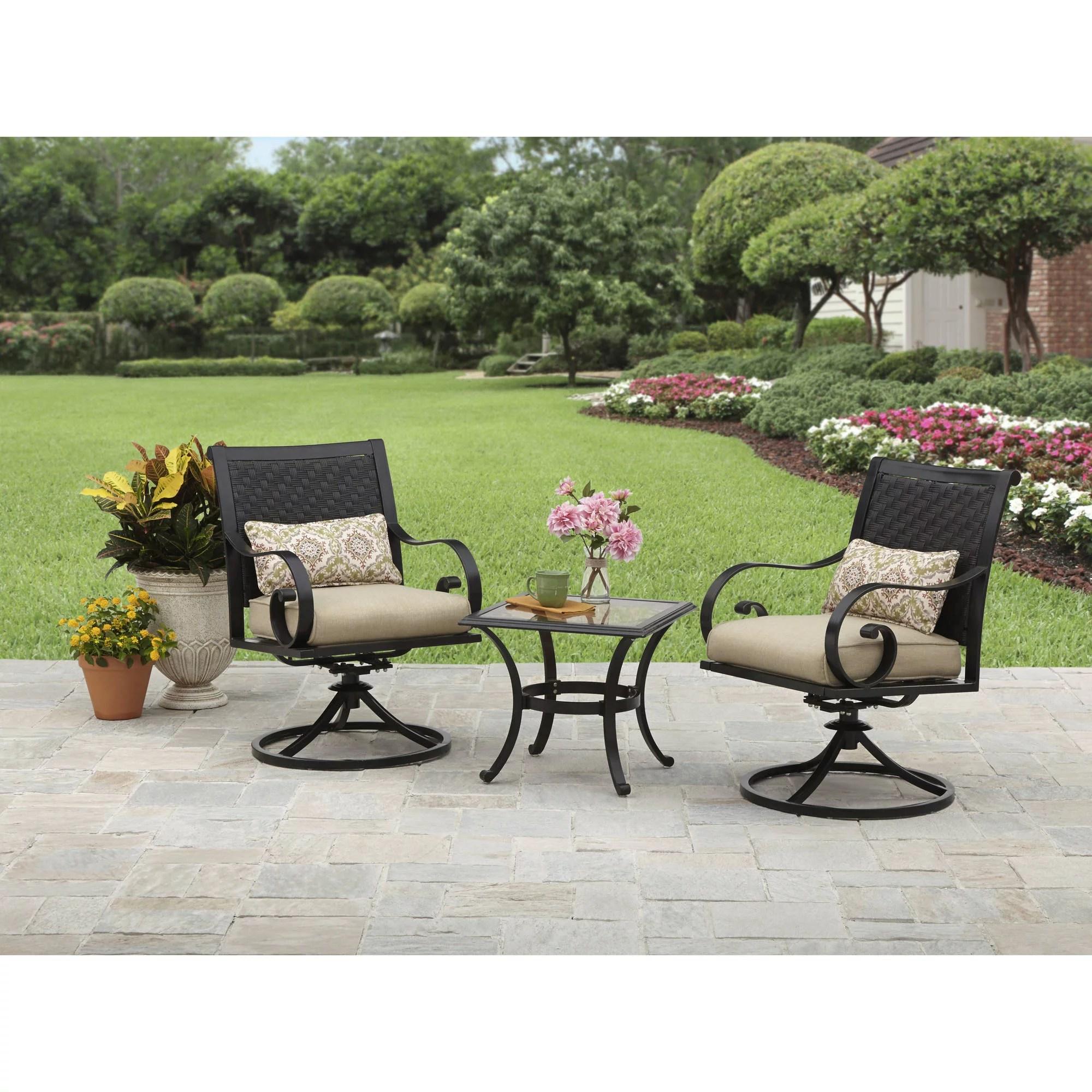 wrought iron patio sets walmart com
