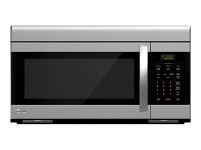 lg lmv1683st microwave oven over range 1 6 cu ft 1000 w stainless steel with built in exhaust system