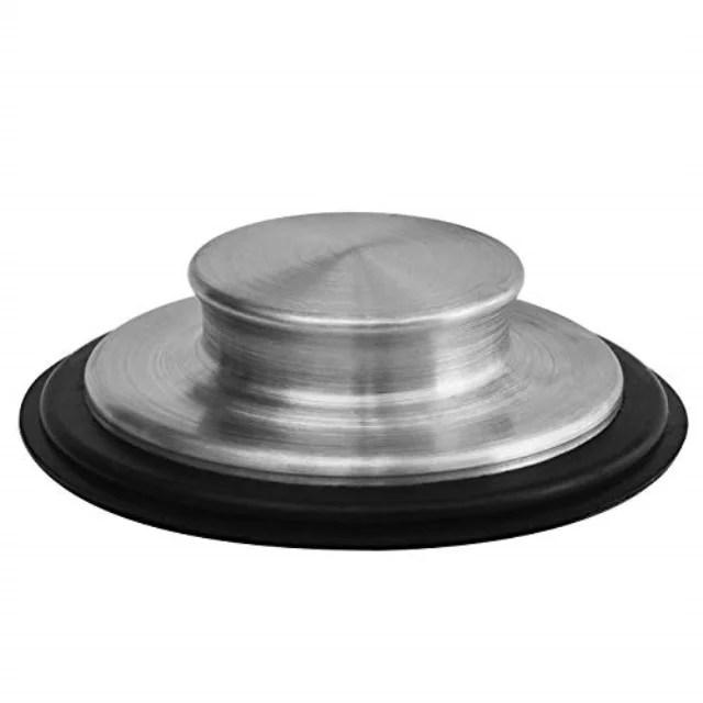 3 3 8 inch 8 57cm kitchen sink stopper stainless steel garbage disposal plug fits standard kitchen drain size of 3 inch 3 5 inch diameter