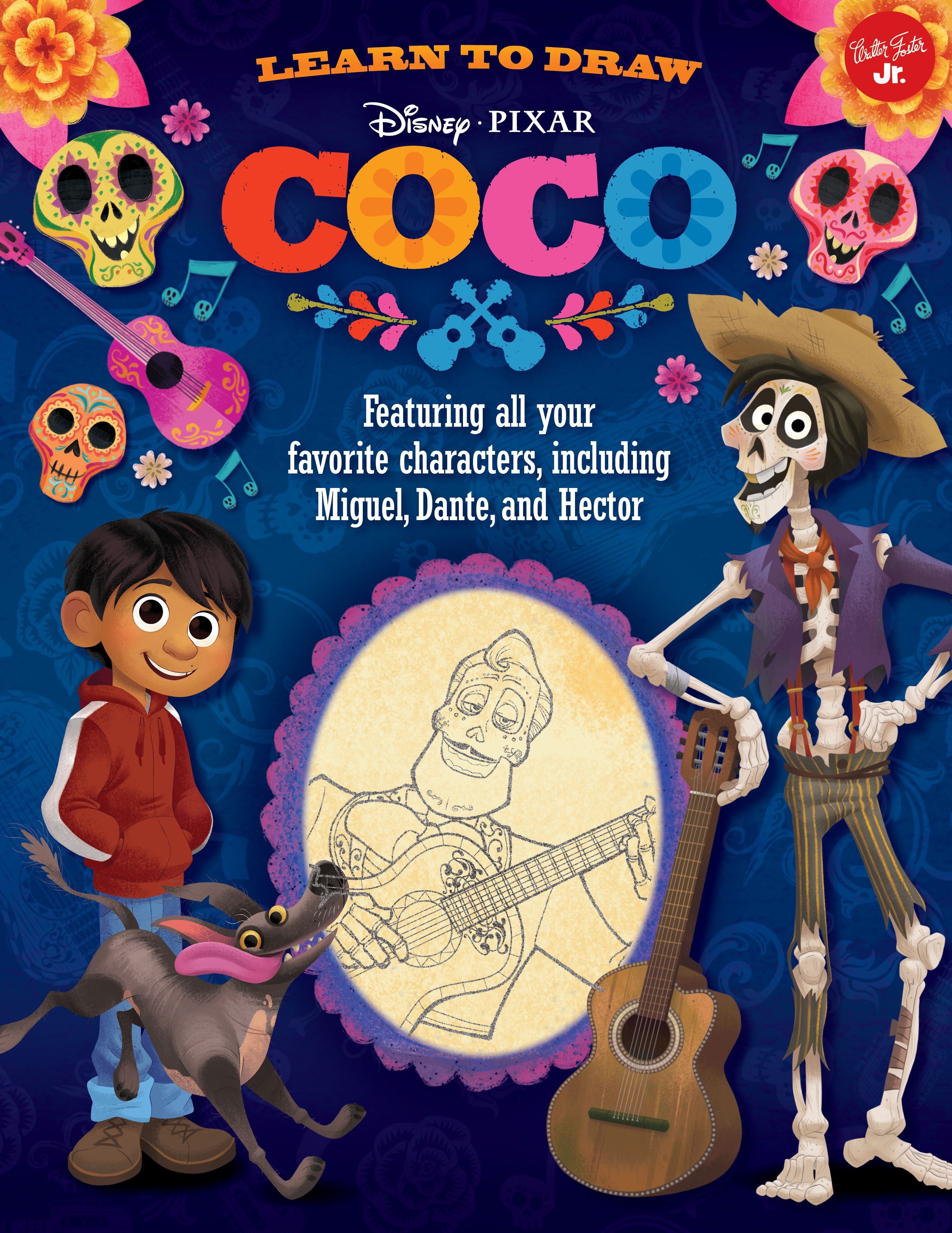 Learn To Draw Disney Pixar Coco Featuring All Your