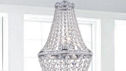 Uanah 6 Light Crystal Antique Black Chandelier Walmart Com Walmart Com