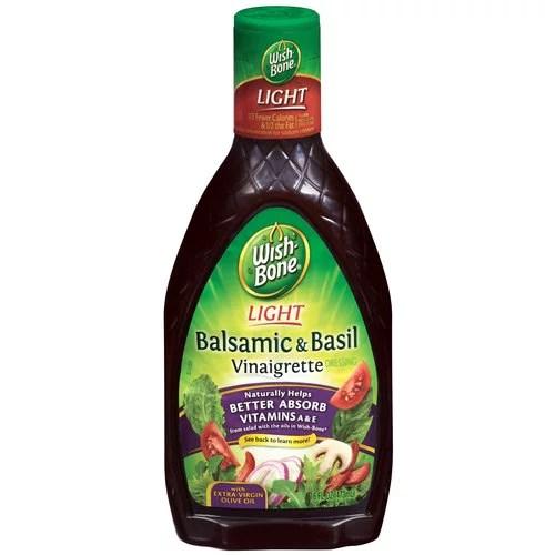 WishBone Light Vinaigrette Balsamic Basil Salad