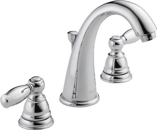 peerless claymore widespread bathroom faucet chrome bathroom faucet 3 hole bathroom sink faucet drain assembly chrome p299196lf