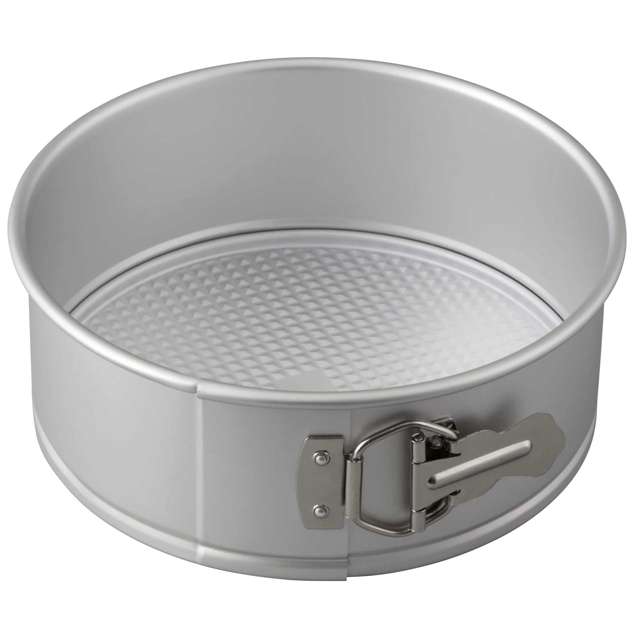 wilton performance pans aluminum springform pan 8 inch cheesecake pan walmart com