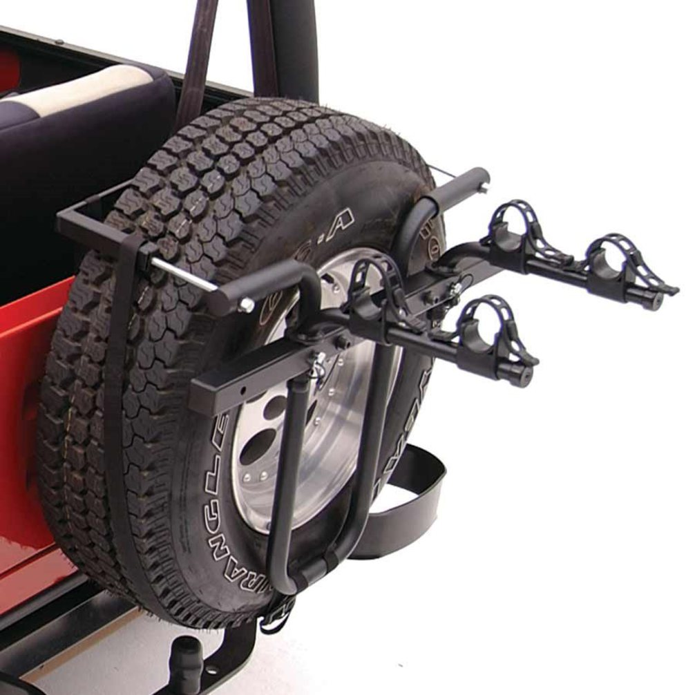 hollywood sr1 spare tire rack 2 bike