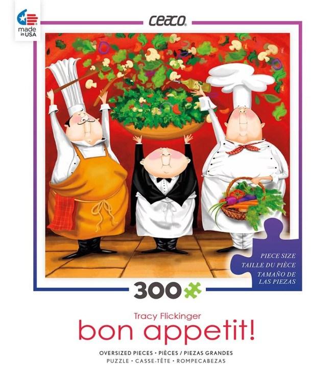 Puzzle - Bon Appetit - Summer Salad 300pc Games Toys 2226-1