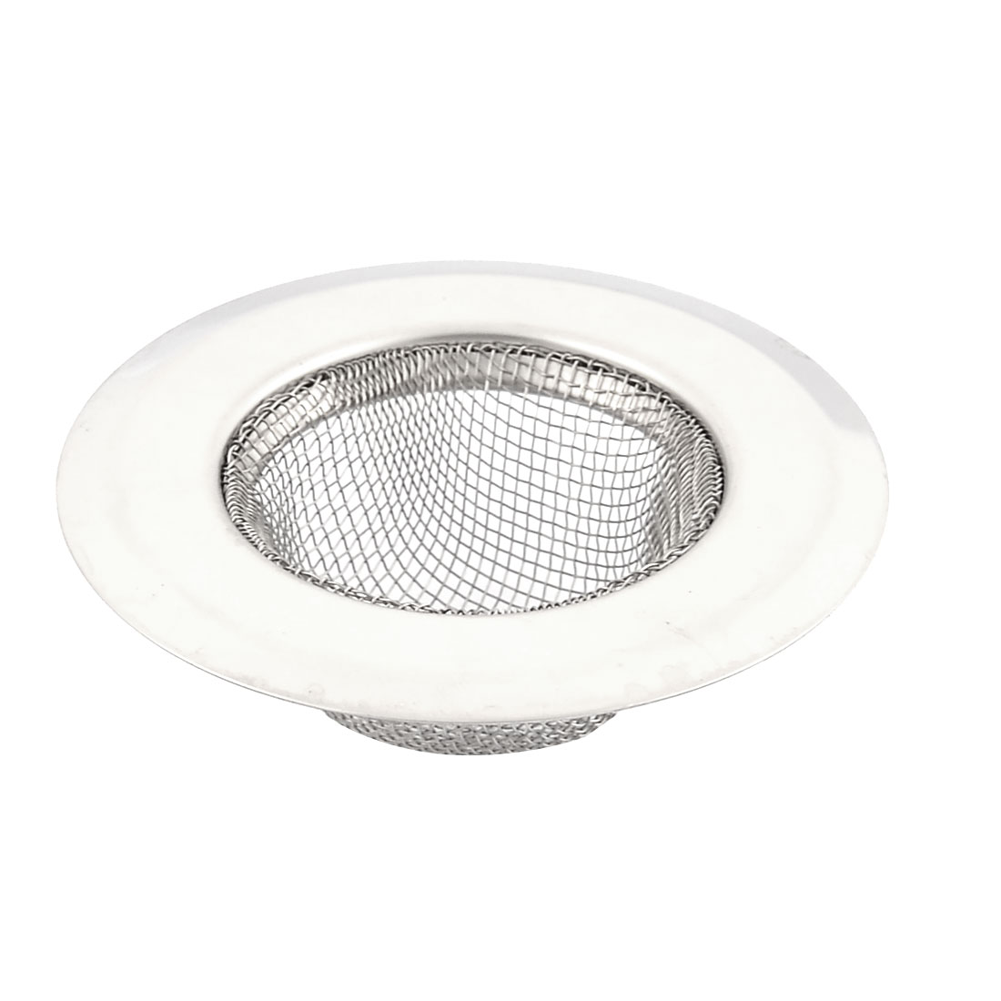 Home Kitchen Metal Sink Drain Strainer Screen Stopper
