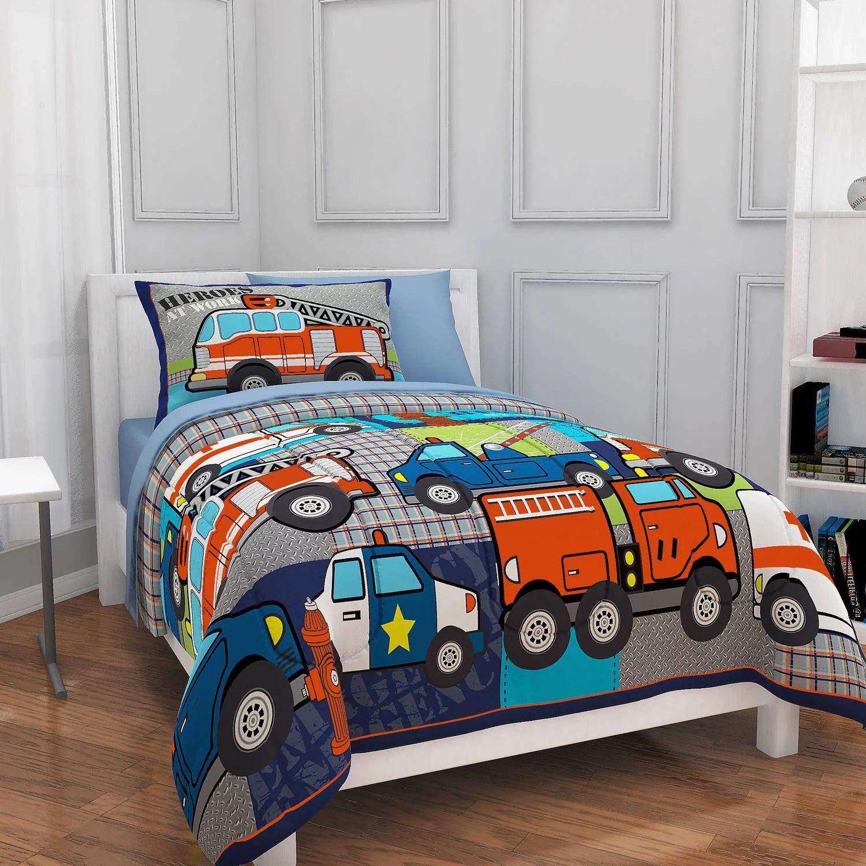 twin bedding sets for boys walmart com