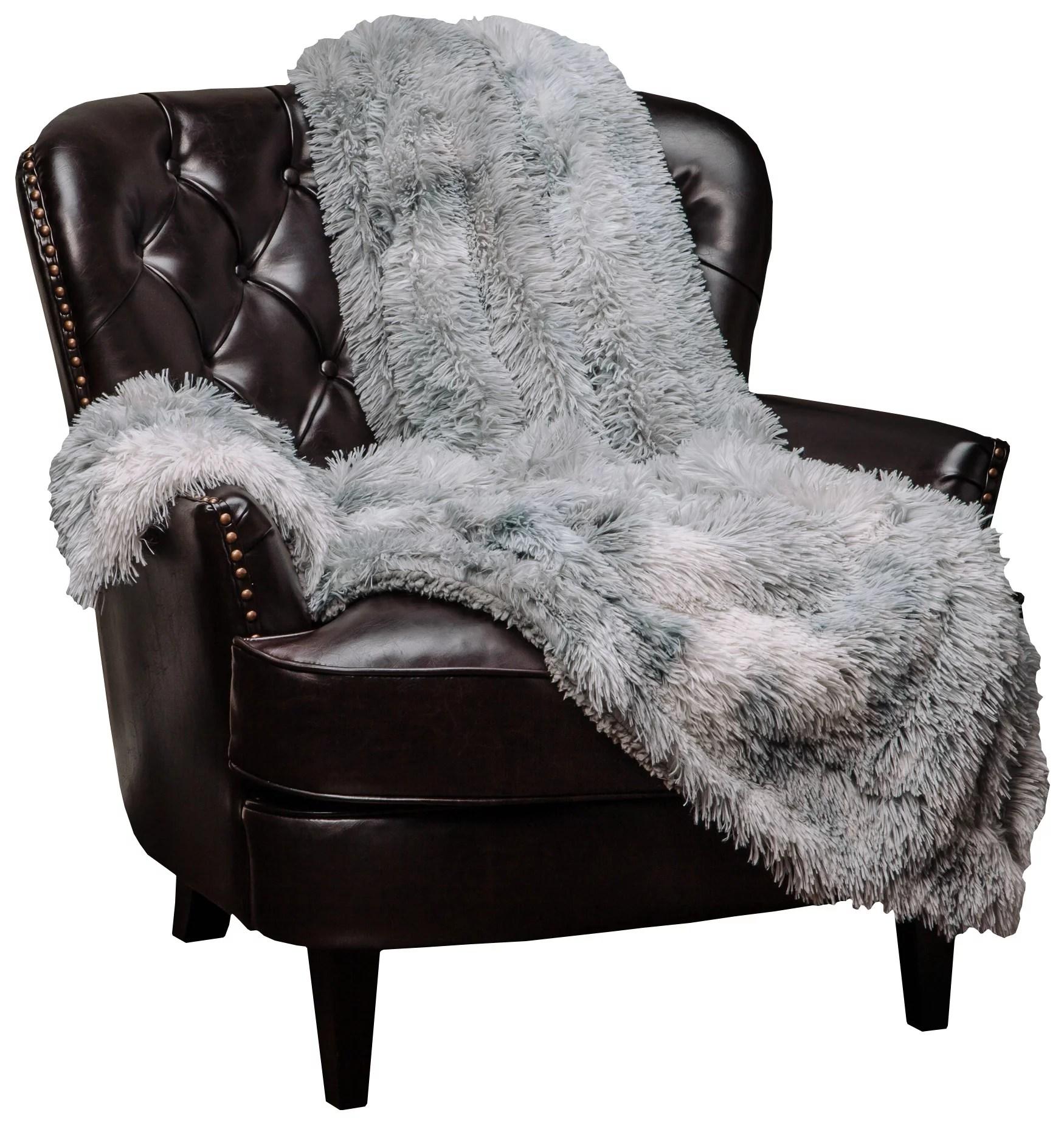 chanasya faux fur sherpa throw blanket color variation marble print super soft shaggy fuzzy fluffy elegant cozy plush microfiber silver grey