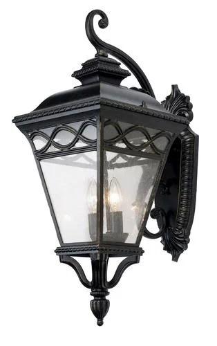 patriot lighting elegant home graham extra large 27 black gold 3 light incandescent outdoor wall light
