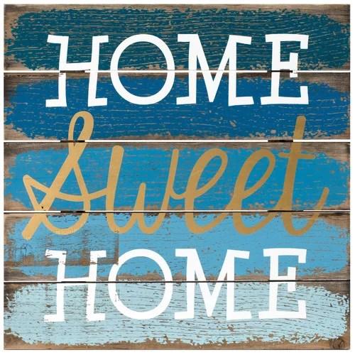 Malden Home Sweet Home Sign Wall Decor - Walmart.com on Home Wall Decor Signs id=77068