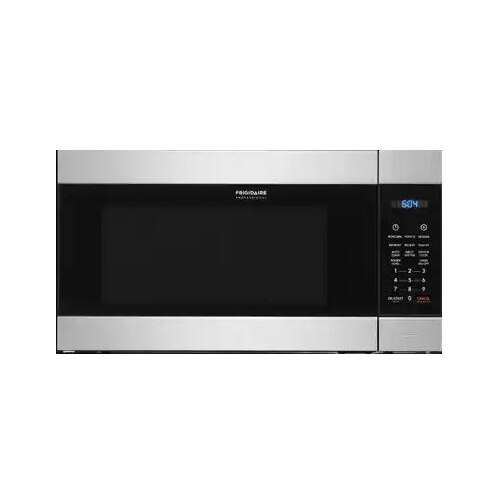 frigidaire professional fpmo227nuf 24 built in microwave with 2 2 cu ft capacity 1200 watts powersense melt setting adjustable timer and auto