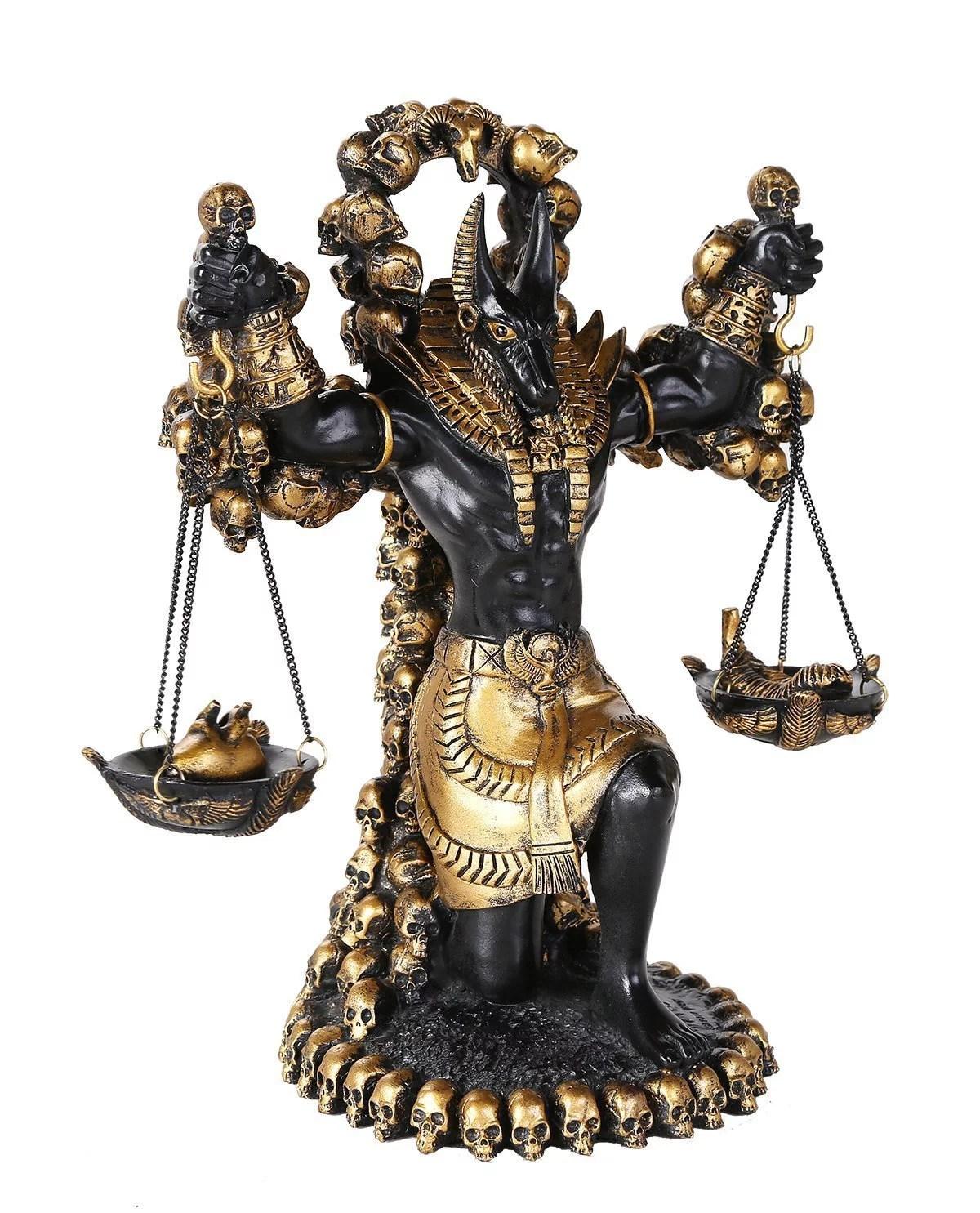 Ancient Egyptian God Of Underworld Anubis Guardian Of