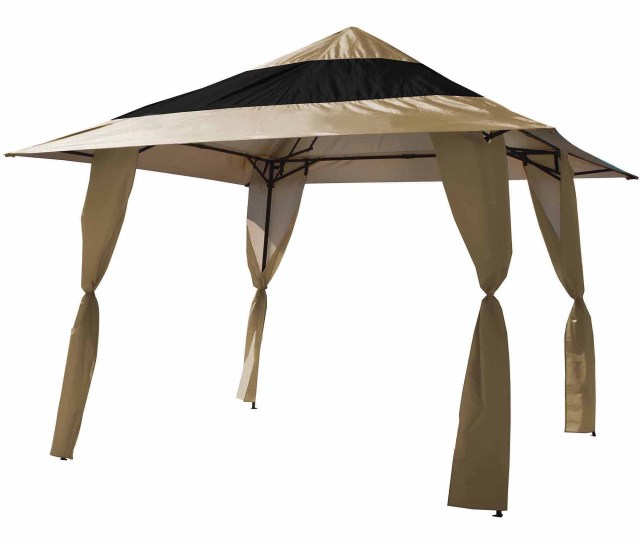 E Z Up Envoy X Straight Leg Instant Canopy  Sq Ft Coverage Walmart Com