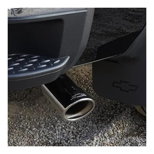 gm 22799814 bowtie logo exhaust tip chevrolet silverado 1500