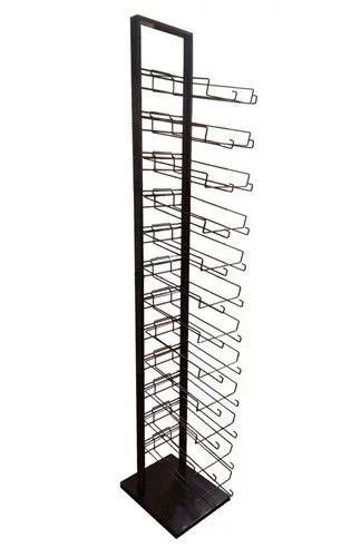 12 tier baseball cap hat rack floor stand cap tower display