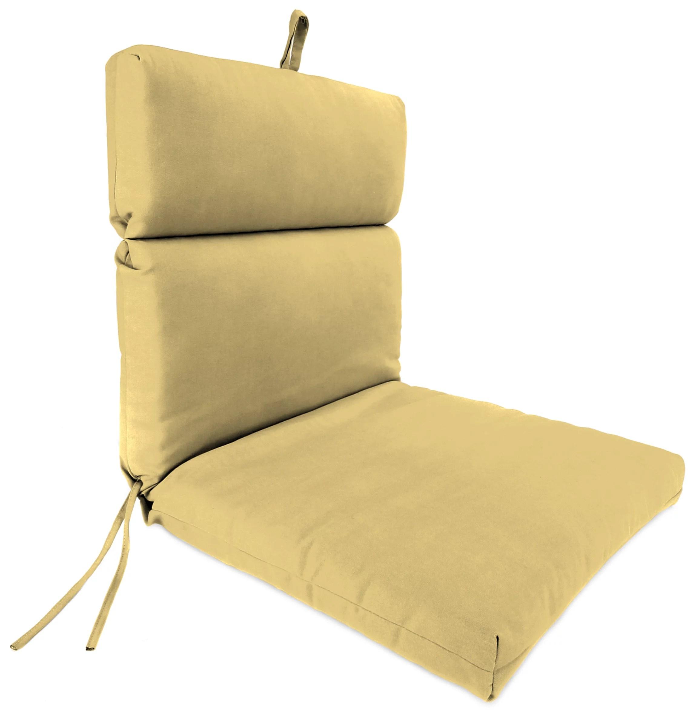 sunbrella outdoor 22 x 44 x 4 chair cushion