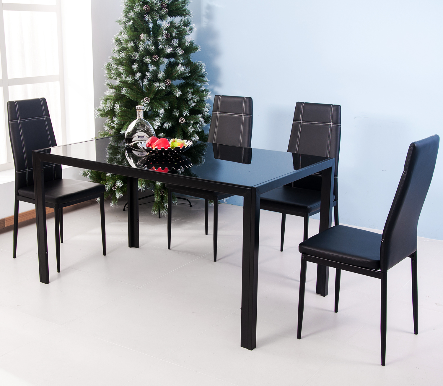 clearance 5 piece dining table set for 4 person modern on dining room sets on clearance id=44633