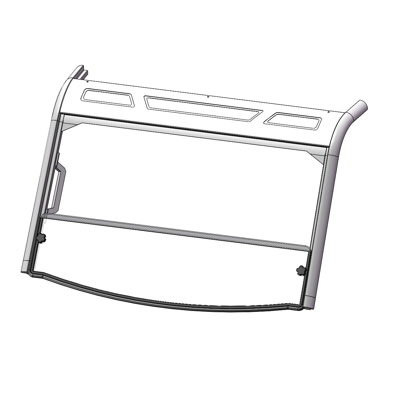 Short Windshield Polaris Ranger Xp 900 570 Crew Xp
