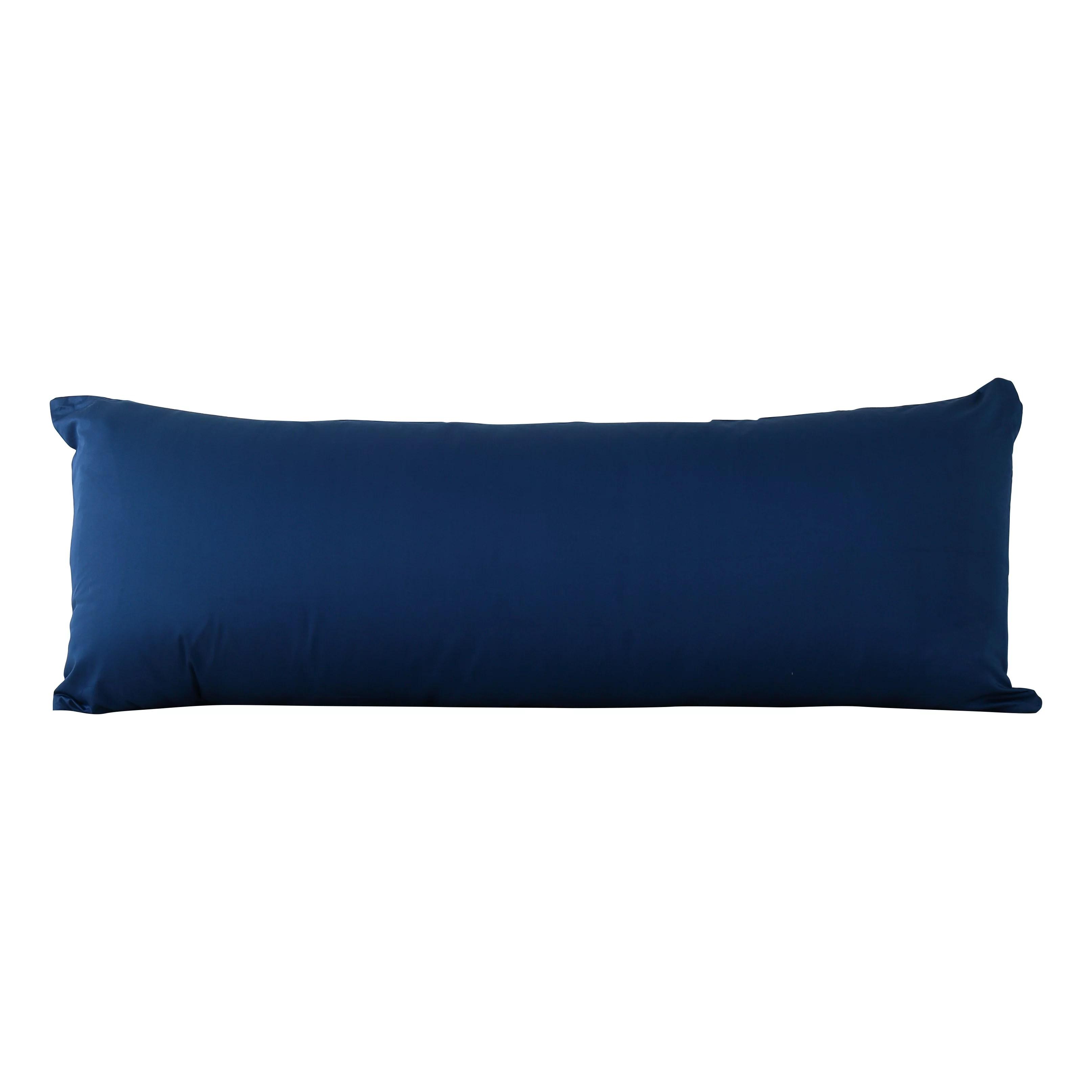 evolive 300tc 100 cotton body pillow cover with zipper closure 21 x54 walmart com