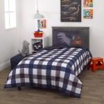 Everything Kids Roarsome Grey And Navy 2 Piece Twin Bedding Set 1 Twin Comforter 1 Pillow Sham Walmart Com Walmart Com