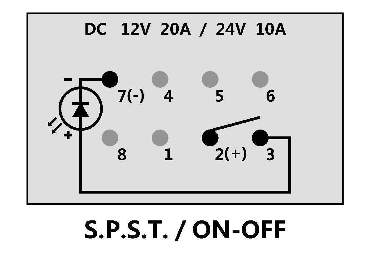 Dorman Rocker Switch Wiring Diagram