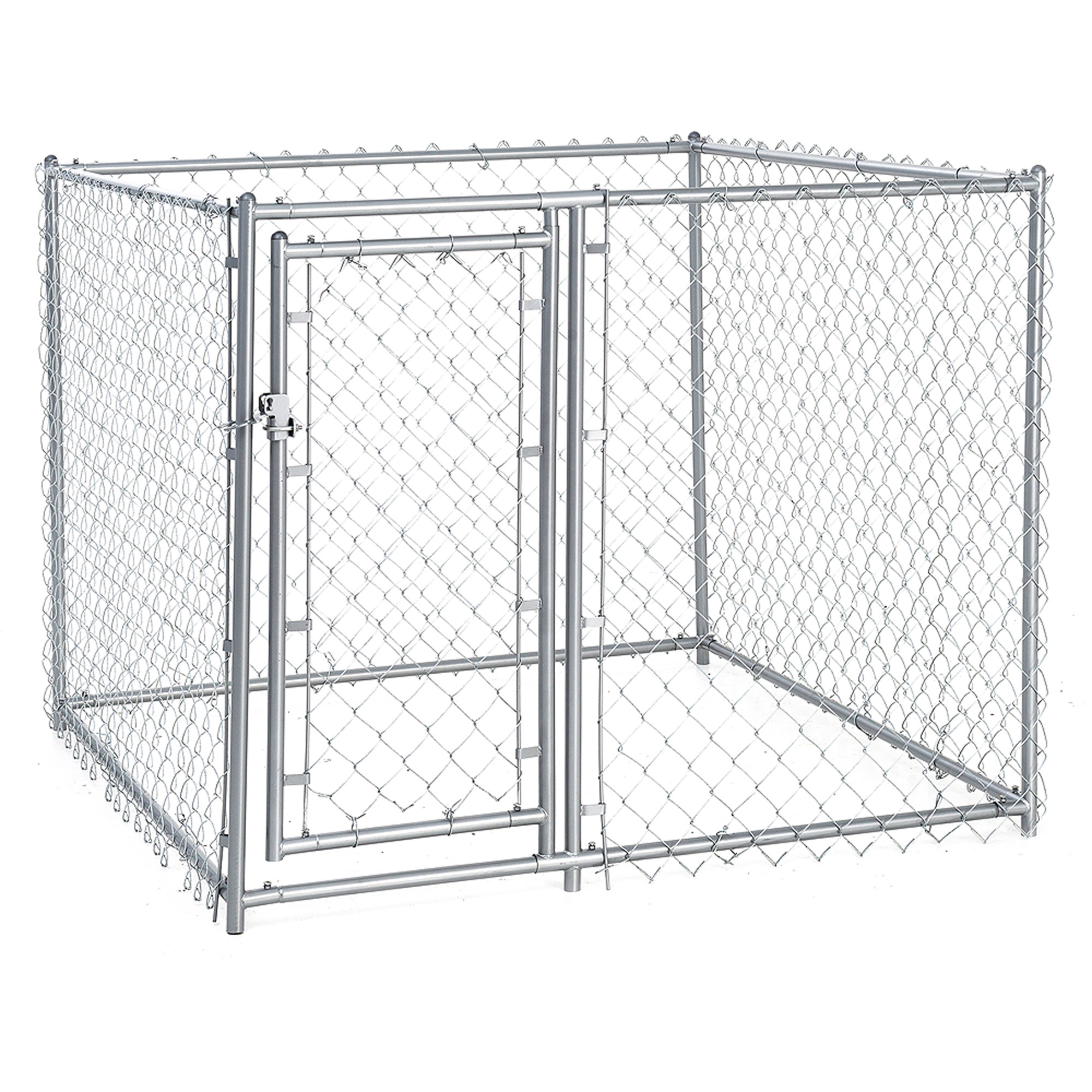 Lucky Dog Heavy Duty Dog Kennel 3 Run W Common Wall