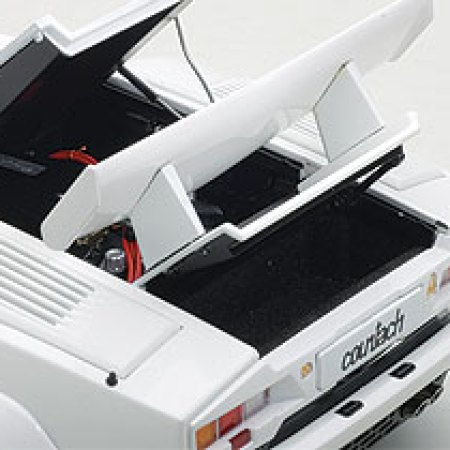 lamborghini countach 25th anniversary edition white 1 18 diecast model car by autoart the. Black Bedroom Furniture Sets. Home Design Ideas