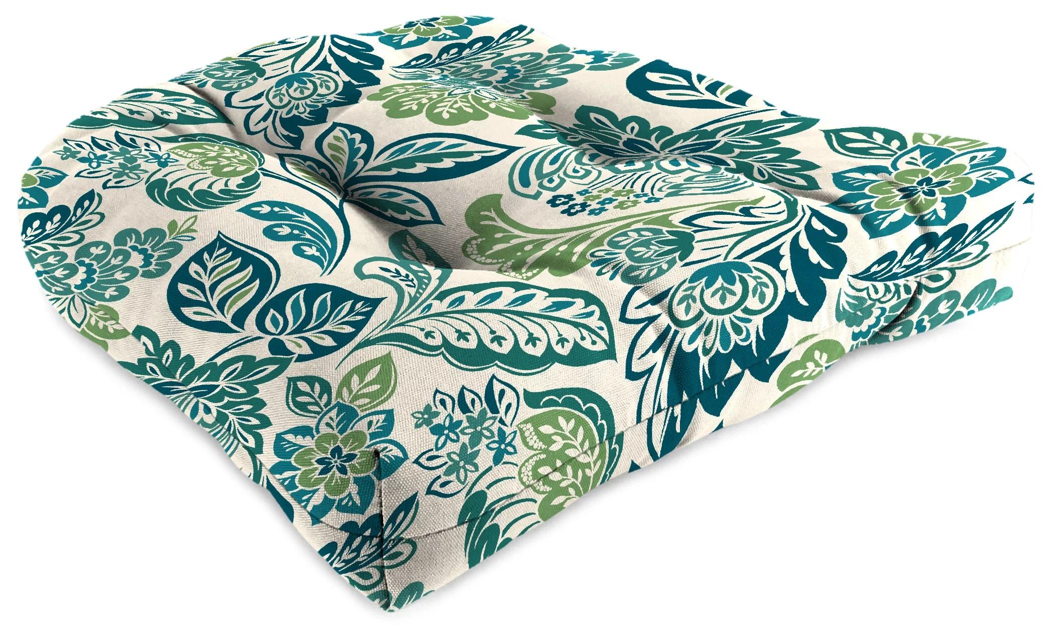 jordan manufacturing 18 x 18 multicolor square chair outdoor seating cushion walmart com