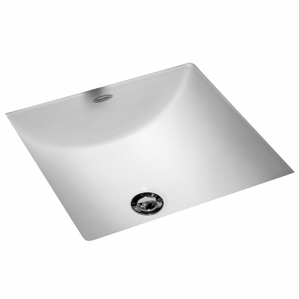 american standard studio carre undercounter sink with mounting kit in white walmart com