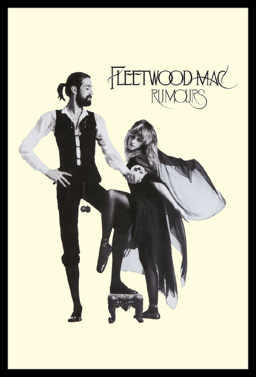 fleetwood mac rumours laminated framed poster print 24 x 36