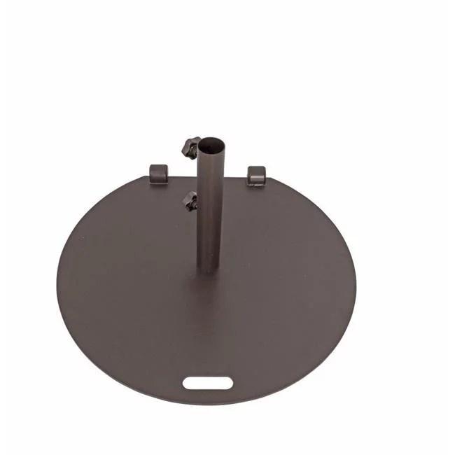 jewett cameron uer27bz 27 in true shade plus steel round umbrella base